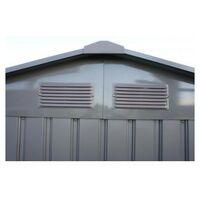 Abri de jardin métal LMJ - 4,8 m² - Galvanisé à chaud