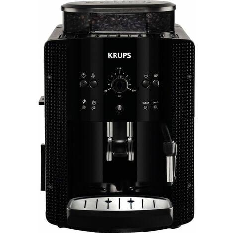 Krups EA8108 - Machine à expresso - 1,8 L - Café en grains - Café moulu - Broyeur intégré - 1450 W - Noir (EA 8108)