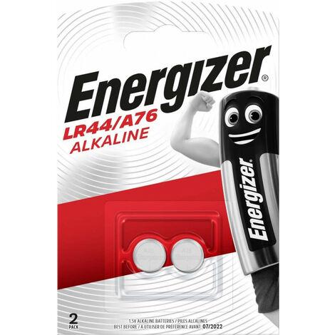 Energizer 639317 - Single-use battery - SR44 - Alcaline - 1,5 V - 2 pièce(s) - Argent (639317)