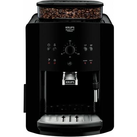 Krups Arabica EA8110 - Machine à expresso - 1,7 L - Café en grains - Broyeur intégré - 1450 W - Noir (EA8110)