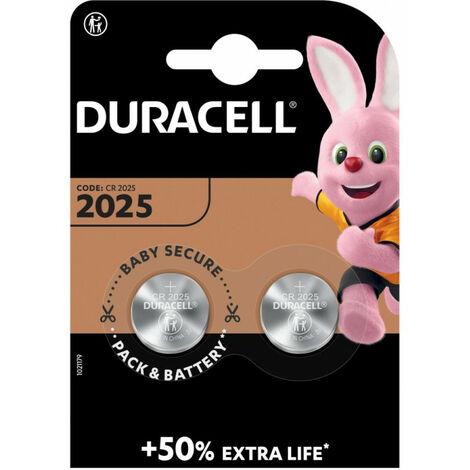 Duracell Pile Bouton '2025', 3 Volt, 160 mAh (203907)
