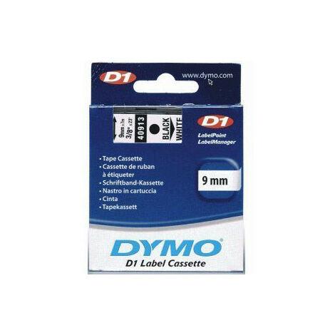 Dymo Ruban pour étiquettes printer 40913 9mm 7m noir printing/whiteD1 (S0720680)
