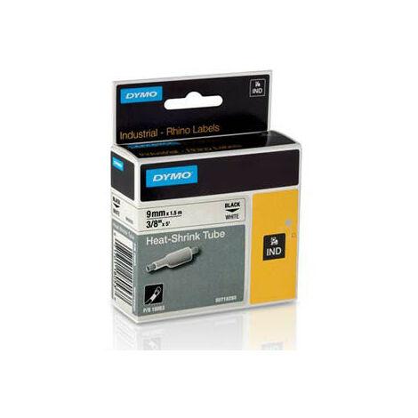 Dymo Ruban pour imprimante etiquettes 18053, S0718280, 9mm, 1,5m, whiteRHINO plat shr (18053)