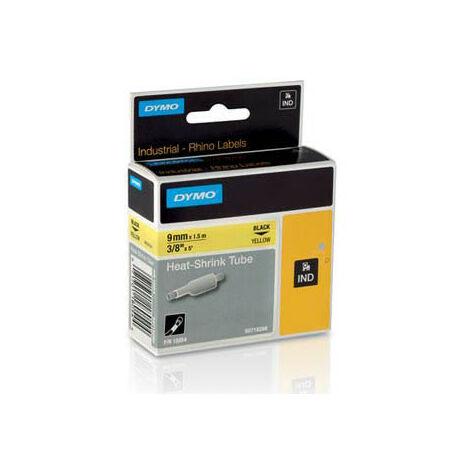 Dymo Ruban pour imprimante etiquettes 18054, S0718290, 9mm, 1,5m, yellowRHINO plat sh (18054)