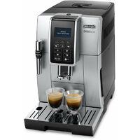 De'Longhi De Longhi DINAMICA ECAM 350.35.SB - Machine à expresso - Café en grains - Café moulu - Broyeur intégré - 1450 W - Noir - Argent (350.35.SB)