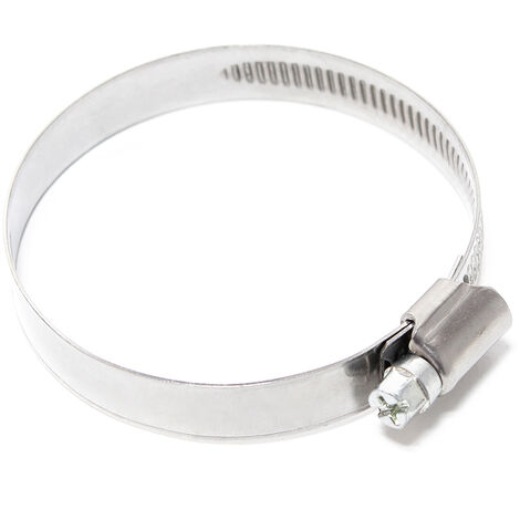 La crémaillère collier de serrage W4 inox largeur 12mm diamètre 40-60mm