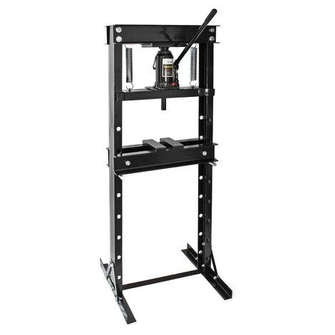 XPOtool 20T Edition noir Presse hydraulique Presse d'atelier Pression de pressage
