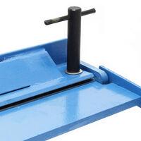 Plieuse de tôle 630mm Rayon de courbure max. 135° & Capacité de pliage 1,2 mm Cintreuse manuelle