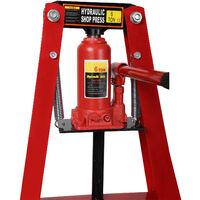 Presse d'atelier 6T Cadre-A avec Largeur de travail 50 jusqu'à 110mm Presse hydraulique Auto Atelier