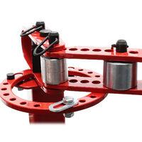 Cintreuse manuelle de tubes Presse à cintrer pour acier plat, rond & carré Outil universel
