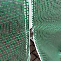 Serre de jardin Tunnel 300×200x200cm Châssis avec Glissière Fermeture Éclair et Fenêtres Platebande