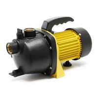 Pompe de jardin 2800l/h 600W Poignée de transport & Vis de purge Hauteur de débit 35m Eau douce