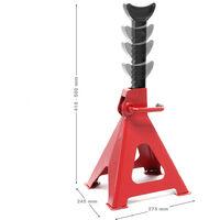 Chandelles de levage Réglable en hauteur en Kit Charge de 6000 kg chaque