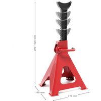 Chandelles de levage Réglable en hauteur en Kit Charge de 3000 kg chaque