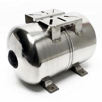 24Litres INOX Réservoir pression à vessie surpression domestique, cuve, ballon, suppresseur pompe