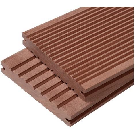 Quid des lames de terrasse en bois composite plein