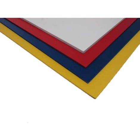 Plaque PVC expansé couleur - Coloris - Bleu, Epaisseur - 5 mm, Largeur - 50 cm, Longueur - 100 cm