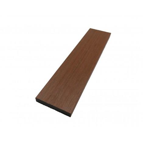 Plinthe de finition composite coextrudé - Coloris - Ambre, Epaisseur - 10 mm, Largeur - 52 mm, Longueur - 200 cm