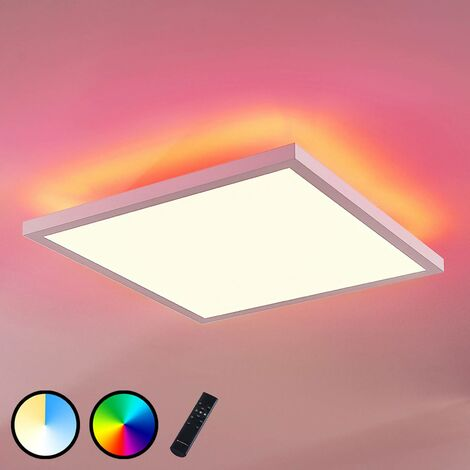 LED Panel 'Brenda' dimmable (modern) in White made of Aluminium (A+) from Arcchio | Ceiling Light, Business Lighting, office lamp, workspace lamp, ceiling light, ceiling lamp, lamp