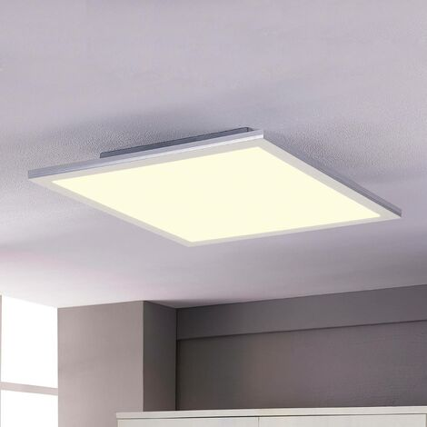 LED Panel 'Livel' (modern) in White for e.g. Kitchen (1 light source, A+) from Lindby   Ceiling Light, Business Lighting, office lamp, workspace lamp, ceiling light, ceiling lamp, lamp