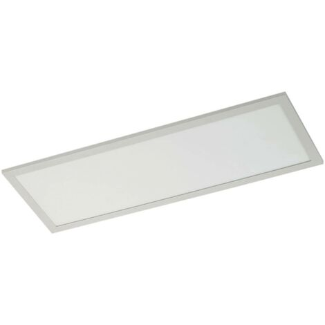 LED Panel 'Enja' dimmable in White made of Aluminium for e.g. Office & Workroom (1 light source, A+) from Arcchio | Ceiling Light, Business Lighting, office lamp, workspace lamp, ceiling light