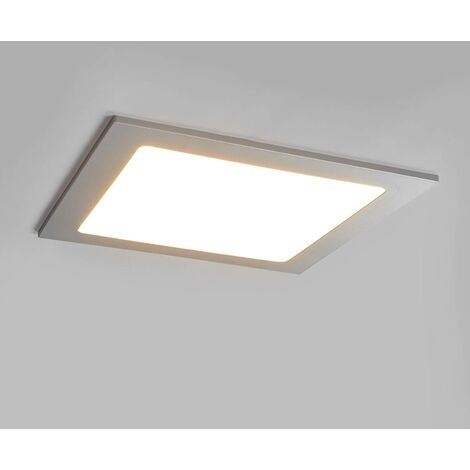 LED Spotlight Recessed 'Joki' (modern) in Silver for e.g. Kitchen (1 light source,) from Arcchio | spotlight, recessed light, ceiling light, wall light