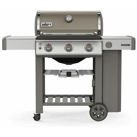 Barbecue à gaz Weber Genesis 2 E-310 Smoke Grey avec Plancha - Gris