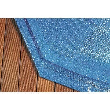 Couverture à bulles pour piscine en bois Procopi Pool'n Box et Weva-6 x 3 m