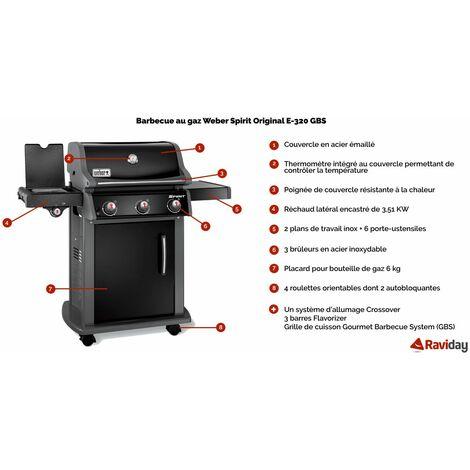 barbecue weber spirit 1 original e 320 gbs ep