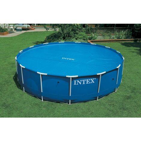 Bâche à bulles pour piscines rondes INTEX 5.49 m