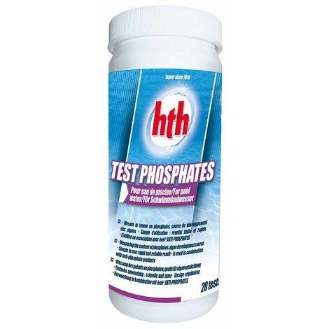 Boîte de test phosphates HTH - 20 sachets poudre