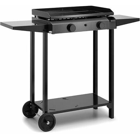 Chariot ouvert pour plancha Forge Adour BASE 60 Acier - Noir