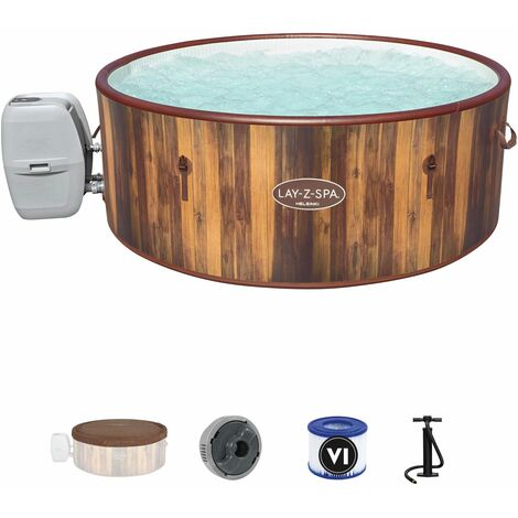 Spa Gonflable Bestway Lay-Z-Spa Helsinki Pour 5-7 personnes Rond 180x66 cm