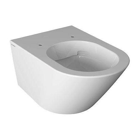 Cuvette wc suspendu sans bride 36x57 cm en céramique Globo Forty3 | Standard