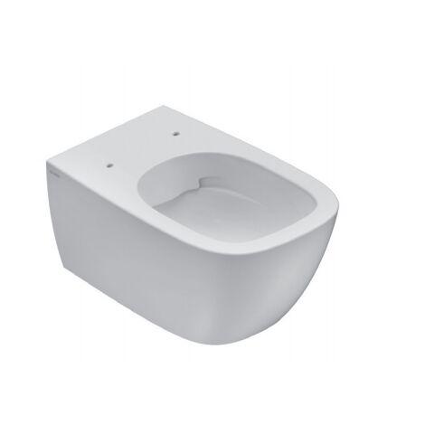 Cuvette wc suspendu sans bride 36x55 cm en céramique Globo Genesis   Standard
