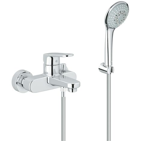 Grohe Mitigeur monocommande pour baignoire/douche Europlus C 33547002 | Chromè
