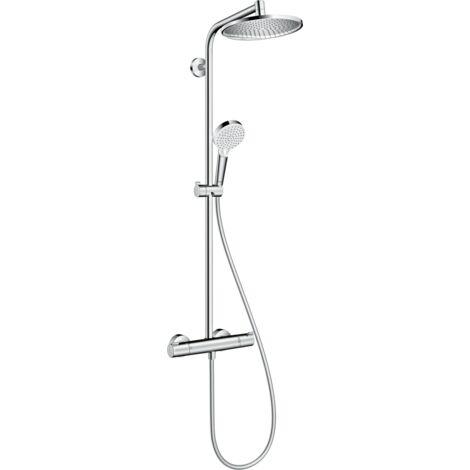 Hansgrohe Colonne de douche avec mitigeur thermostatique Crometta S 27267000 | Chromè