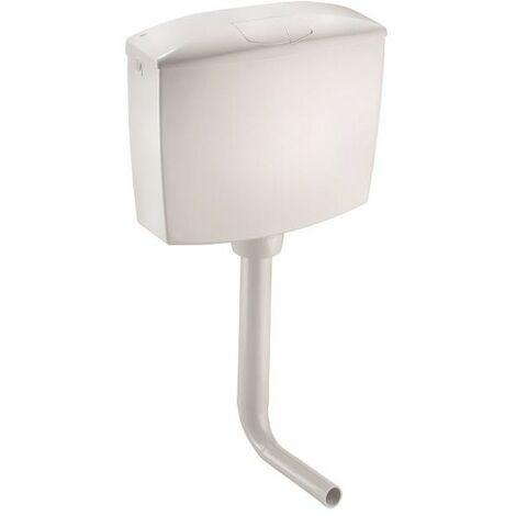 Réservoir wc avec double vidange Smeraldo OL0401201 | Blanc