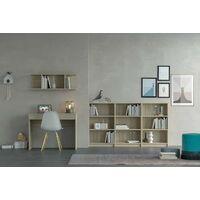 Bureau 100x55 cm Chêne avec tiroir série Stoccolma | Chêne clair