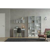 Etagère 100x30xh33 cm Blanc mat avec 3 compartiments série Stoccolma | Blanc