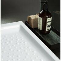 Receveur de douche 120x80 cm en céramique Gaia | Blanc
