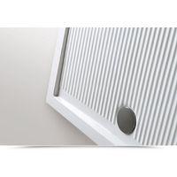 Receveur de douche en céramique 90x90 cm serie Ariston   Blanc