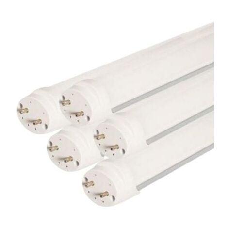 Tube Néon LED 120cm T8 36W (Pack de 5) - Blanc Chaud 2300K - 3500K - SILAMP