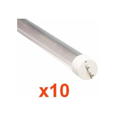 Tube Néon LED 150cm T8 24W (Pack de 10) - Blanc Neutre 4000K - 5500K - SILAMP
