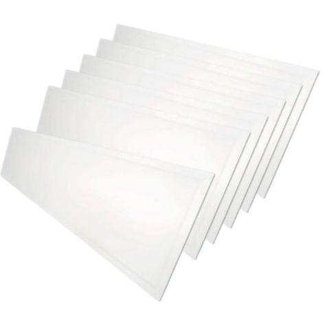 Panneau LED 120x30 48W BLANC (Pack de 6) - Blanc Neutre 4000K - 5500K - SILAMP