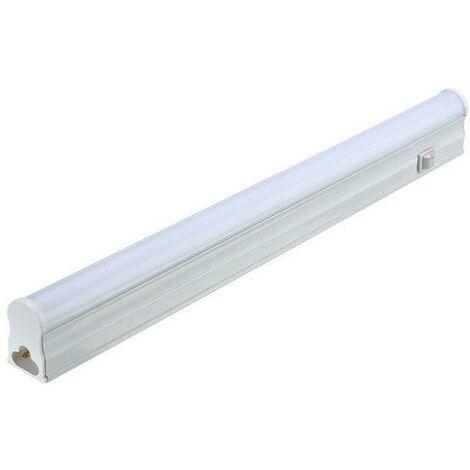 Tube Néon LED 90cm T5 12W avec Interrupteur - Blanc Froid 6000K - 8000K - SILAMP