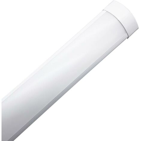 Réglette lumineuse LED 120cm 36W BLANC - Blanc Froid 6000K - 8000K - SILAMP