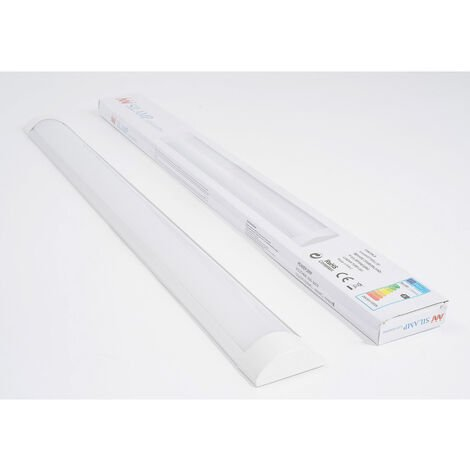 Réglette lumineuse LED 120cm 36W - Blanc Froid 6000K - 8000K - SILAMP