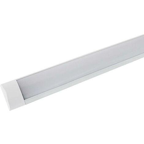 Réglette lumineuse LED 120cm 48W - Blanc Froid 6000K - 8000K - SILAMP