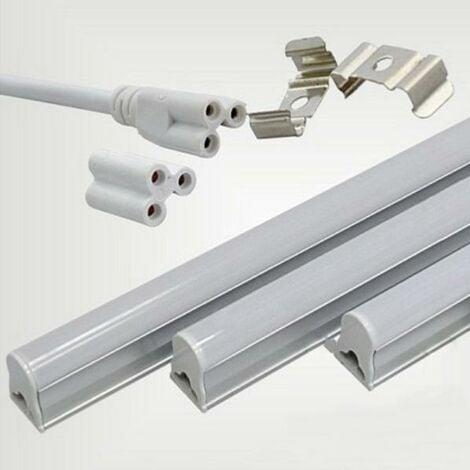Tube Néon LED 90cm T5 14W - Blanc Froid 6000K - 8000K - SILAMP
